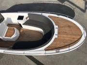 Anker Riviera 24 diesel buiskap en biminitop